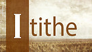 iTithe - Part 1